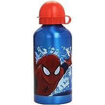 Spiderman - Borraccia, 500 ml, Colori Assortiti: Blu Tappo Giallo/Blu Tappo Rosso/Rosso Tappo Nero
