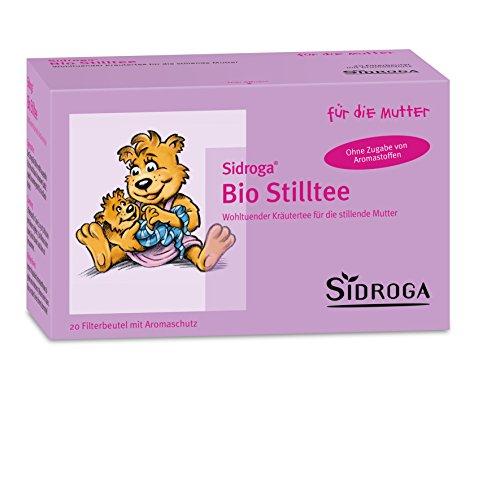 Sidroga Bio Stilltee - Kräutertee mit Heilpflanzen zur Unterstützung der Milchbildung - 20 Filterbeutel à 1,5 g