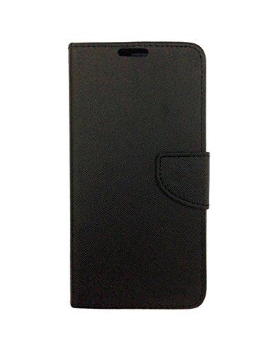 Celson Flip Cover For Micromax Canvas Spark 2 Plus (Q350) Flip Cover Case - Black