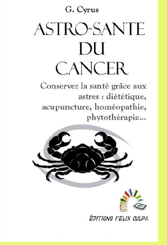 Astro-santé Cancer