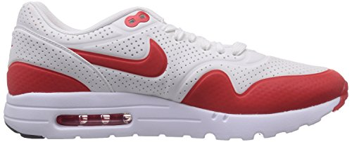 Nike Air Max 1 Ultra Moire, Baskets basses homme Blanc (Summit White/Challenge Red-White)