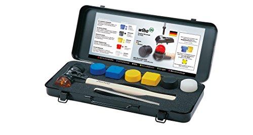 Wiha Wiha Safety Hammerset, 8-tlg. Hammer Gr. 40 mit 6 Wechselschlagköpfen im Metall-Koffer inkl. Stiftschlüssel. 832B8