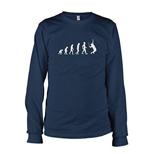 TEXLAB - Tennis Evolution - Langarm T-Shirt, Herren, Größe L, dunkelblau (Langarm 3rd)