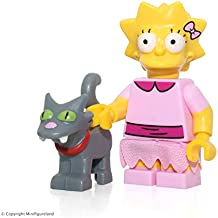 LEGO The Simpsons Series 2 Collectible Minifigure 71009 - Lisa Simpson (Snowball II Cat)