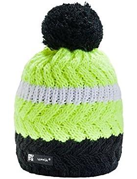 Unisex Winter Gorro de invierno de lana gorro para hombre Mujer Beanie Hat Esquí Snowboard de moda mfaz Morefaz...