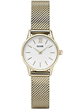 Watch Cluse La Vedette Mesh Gold / White CL50007