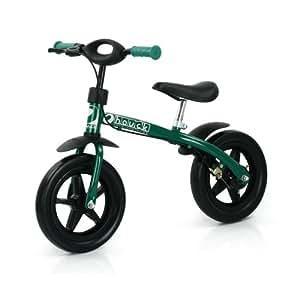 """Hauck T81405 Super Rider 12, 12"""" Laufrad mit Bremse, grün"""