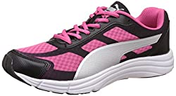 Puma Womens Expedite Wns Idp Puma Black and Fandango Pink Running Shoes - 6 UK/India (39 EU)