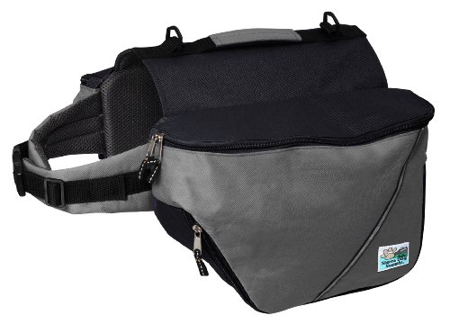 Artikelbild: Doggles Dog Backpack, Small, Gray/Black by Doggles