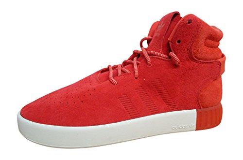 Adidas Uomo Baskets Alte Tubular Invader red red white S80244
