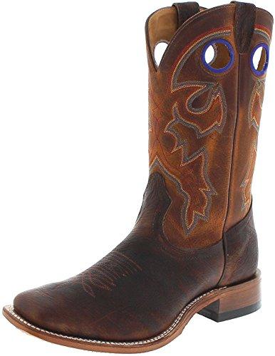 FB Fashion Boots Boulet 6369 3E Bison Old Town Gold/Herren Westernreitstiefel Braun/Reitstiefel/Herrenstiefel, Groesse:43 (9.5 US) (Sporen Für Stiefel Männer)