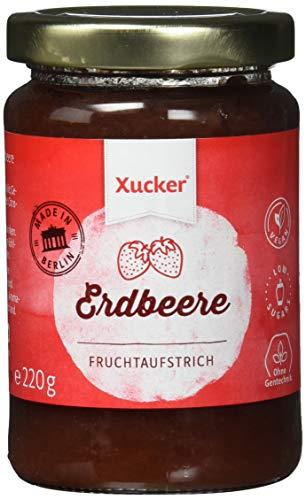 Xucker  Fruchtaufstrich - Erdbeer, 1er Pack (1 x 220 g) -