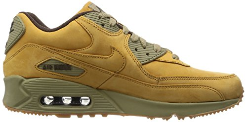 Nike Air Max 90 Winter Prm, Chaussures de Running Entrainement Homme Multicolore - Naranja / Marrón (Bronze / Bronze-Baroque Brown)