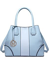 5d4a5278f223 Miss Lulu Leather Look V-Shape Shoulder Handbag Elegant Design Top Handle Fashion  Handbags for
