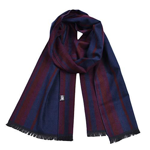 Herren Schals, Neu Schal Winter Warm Lange Weich Nachahmung Plaid Überprüft Kontrast Farbe Weich Schals