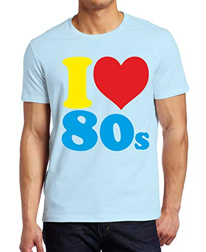 Men's I Loveheart the 80s T-shirt - 4 colours