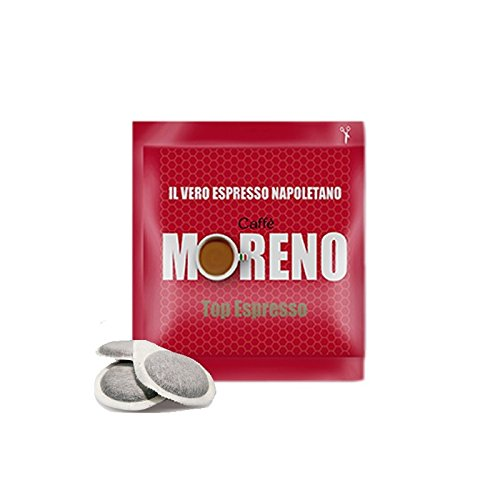 CAFFE' MORENO 150 CIALDE IN CARTA ESE 44MM TOP ESPRESSO MOKONA/TAZZONA COMPATIBILI