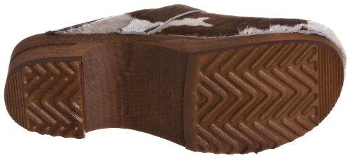 Sanita Wood-Caroline open 1706199W-87, Chaussures femme Marron (Marron-TR-D3-56)
