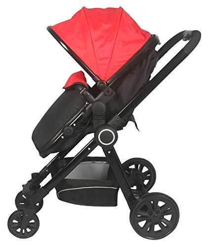 Sunbaby Revolve Stroller (Red)