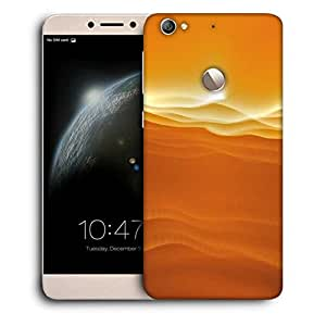 Snoogg Sandy Sunset Designer Protective Phone Back Case Cover For LETV 1S / Le-ECO 1S