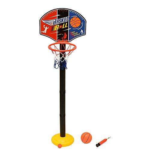 Takestop® - Juego Canasta 85 cm + balón Baloncesto