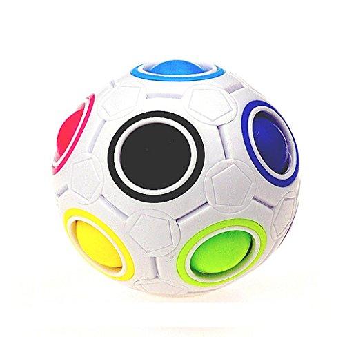 *Covermason Regenbogen magischer Ball Würfel Fidget Cube , Angst Stress Relief Spielzeug (Bunt)*