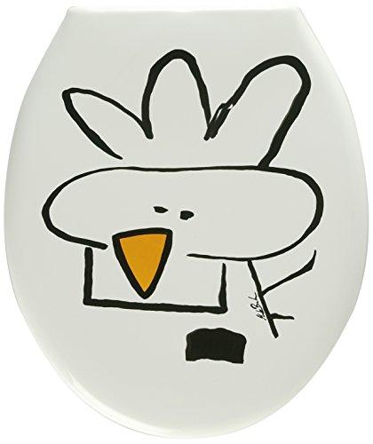 ADOB 81035 Thermoplast WC Sitz Klobrille Motiv Huhn