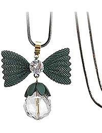 1 Halskette Halsschmuck Sweaterkette Doppelkette Perlen Beads Dekoration Mode LP