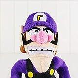 LYH2019 Super Mario Plush Doll Suave Púrpura Waluigi Plush Toys 1Pcs 27Cm