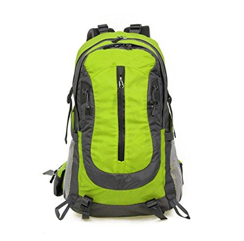 Outdoor Bergsteigen Tasche Wasserdicht Reiten Tasche Reisen Nylon Paket Green
