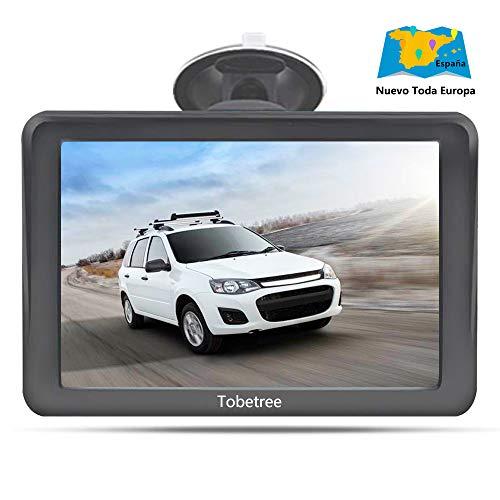 Tobetree MT988 - GPS Coches, 7 Pulgadas Navegador GPS para Coche con...