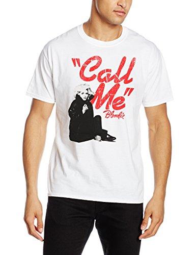 Rockoff Trade Herren T-Shirt Call Me Weiß