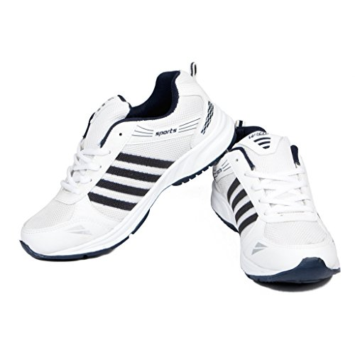 Asian-Shoes-Wonder-13-White-Navy-Blue-Mens-Sports-Shoes