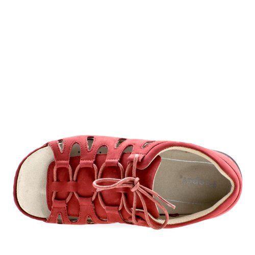 Propet Ghillie Walker Femmes Large Cuir Sandales red