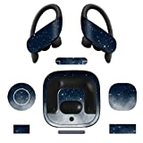 MasiBloom® Wireless Earphone Decal Sticker for Newest Powerbeats Pro 2019 Released Ultra thin Precise Cutting Vinyl Protective Skin (for Powerbeats Pro 2019, Starry Sky)