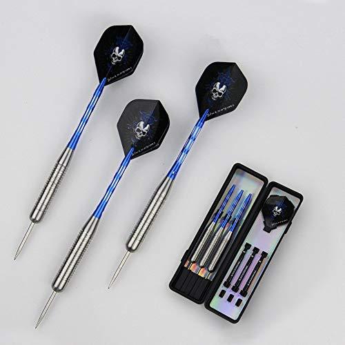 Ruoxiang Tip Darts Flight Messing Stahl Tips Aluminium Schäfte Messing Brussels Flight Flags Tip Darts Perfektes Geschenkset 28 Gramm 3St -