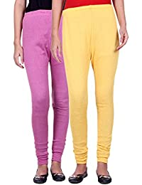 Belmarsh Warm Leggings - Pack of 2 (Bpink_Yellow)