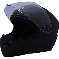 Steelbird Air SBA-1 Dashing Full Face Helmet (Black, M)