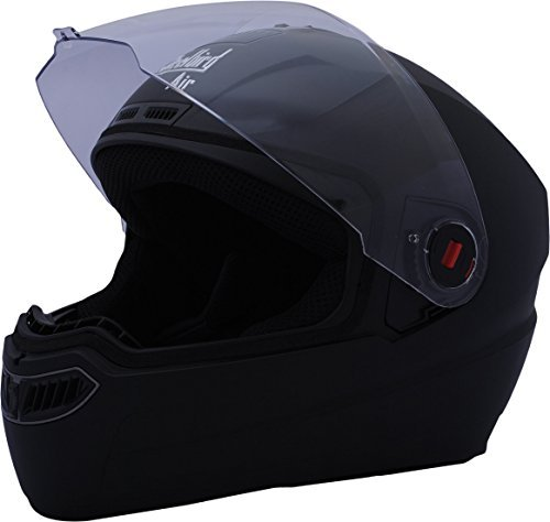 Steelbird Air SBA-1 Dashing Full Face Helmet (Black, M)