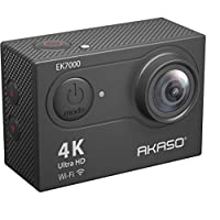 AKASO EK7000 4K Sport Action Camera Ultra HD Camcorder 12MP WiFi Waterproof Camera 170 Degree Wide View Angle 2 Inch LCD…