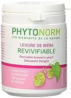 La levure de bière revivifiable Phytonorm est un probiotique concentré en acides aminés et vitamines essentielles. Elle veille à la bonne santé de votre flore intestinale. Revivifiable indique que la levure est active car elle n'a pas été chauffée co...