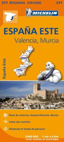 Carte Espagne Est Michelin par Collectif MICHELIN