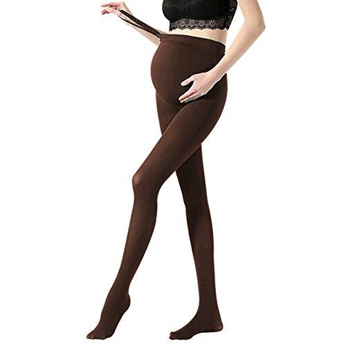 Vellette Strumpfe & Strumpfhosen Opaque Umstandsstrumpfhose Unterstutzung Leggings Mutterschaft Hose fur alle Phasen der Schwangerschaft Damen 180D -