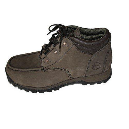 Timberland Herren PRO Rugged Moc Toe Arbeitsschuh Sicherheitsschuh S3 grau Zehenschutzkappe aus Stahl, Schuhgröße:40