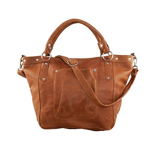 COWBOYSBAG Bridgewater shopper sac à main en cuir souple (44x30x14 cm) Marron - Braun (Cognac)