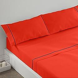 Burrito Blanco Juego de sábanas 241 Coral de cama de 90x190/200 cm