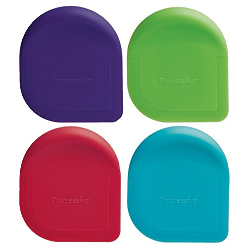 Progressive International Colored Pan Scraper, 1 Piece, Color May Vary