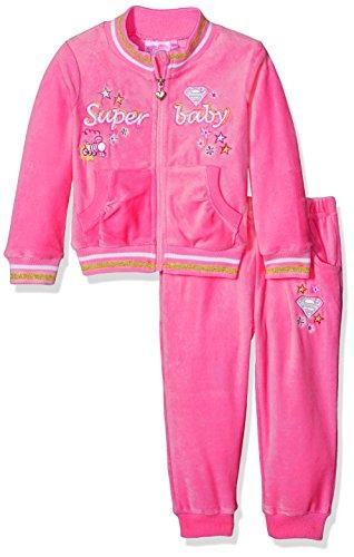 hen Bekleidungsset Superbaby Girl Pink (Fushia) 86 ()