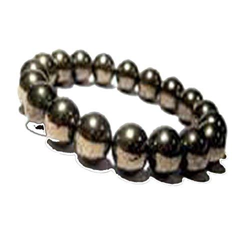 new-year-sale-golden-pyrite-bead-bracelet-natural-gemstone-original-stone-bead-size-6mm-crystal-heal