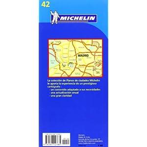 Plano Plegable Madrid (Planos Michelin)